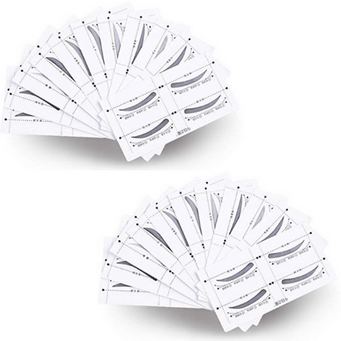 (2pk) Eyebrow Stencil Packs