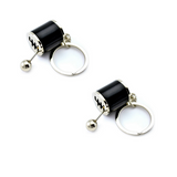 (2PK) Fidget Gear Shift Keychain