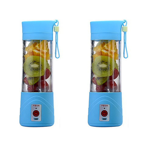 '- (2PK) Portable Juice Blender
