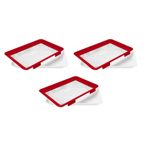 6 Pack - Microwaveable Food Sealing Tray