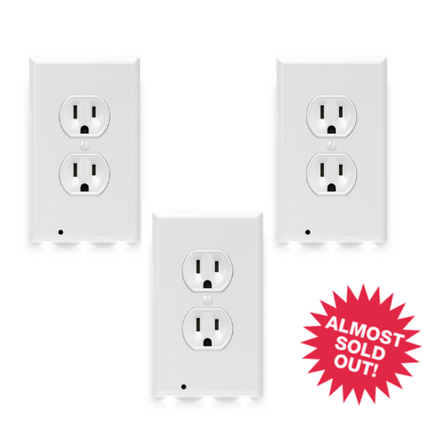 ^ Nightlight Outlet Cover (3 Pack)