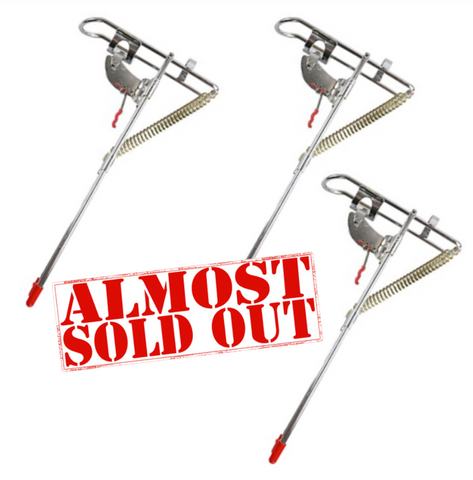 (3 Pack) Spring Fishing Rod Holder