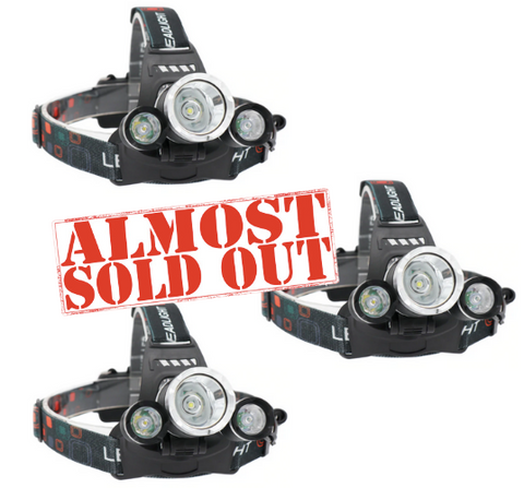 LED Headlamp (3 Pack)