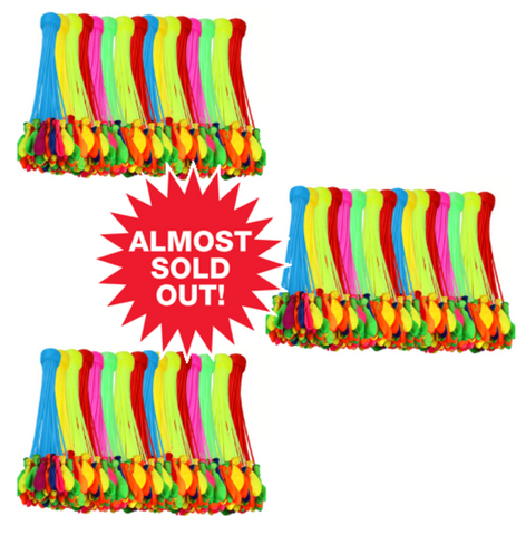 (3 Pack) 592pc. Water Balloon Set