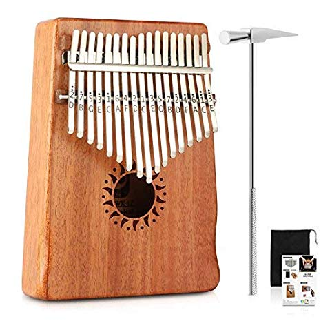 (1 Pack) 17 Keys Kalimba Thumb Piano