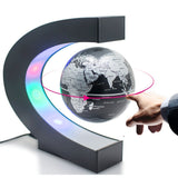 The Floating Globe with LED Light!