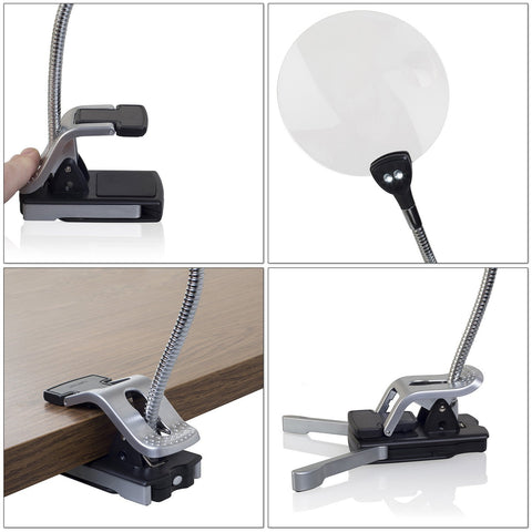 2pk Lighted magnifier