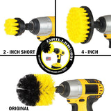 (3PK) SpeedyClean Power Scrubber Set