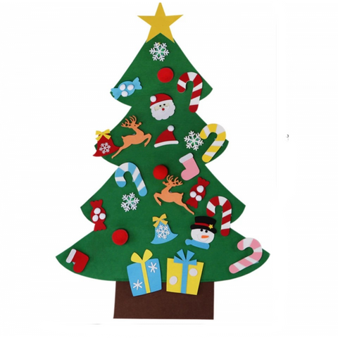 (1 Pack) DIY Felt Christmas Tree