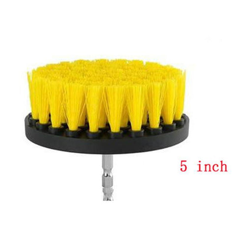 SpeedyClean Power Scrubber - 4-5 inch Round Brush