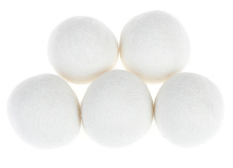 (1PK) Set of Wool Dryer Balls