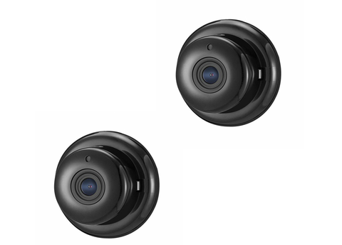 (2 pack) mini wifi camera