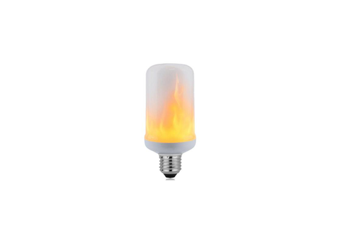 *LED flame lamp