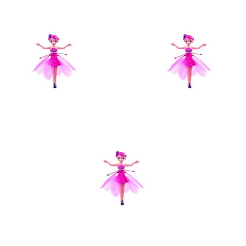 Princess Fairy Doll (3 Pack)