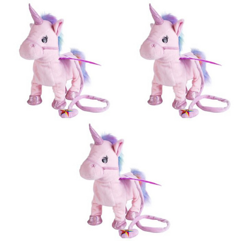 Walking Unicorn Toy (3 Pack)
