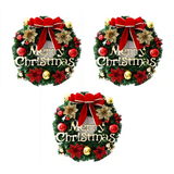 (3 Pack) Santa Claus Wreath