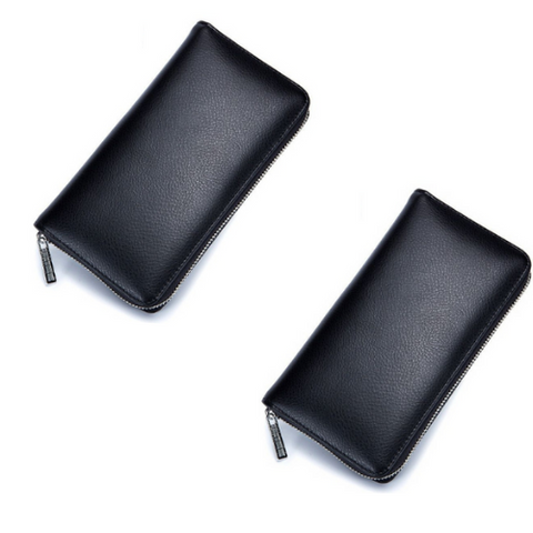 (2 Pack) RFID Leather Women's Wallet