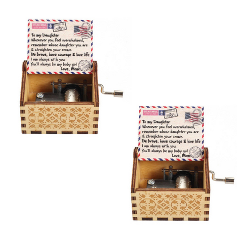 (2 Pack) Colorful Music Box