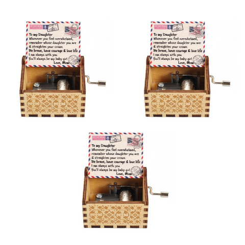 (3 Pack) Colorful Music Box