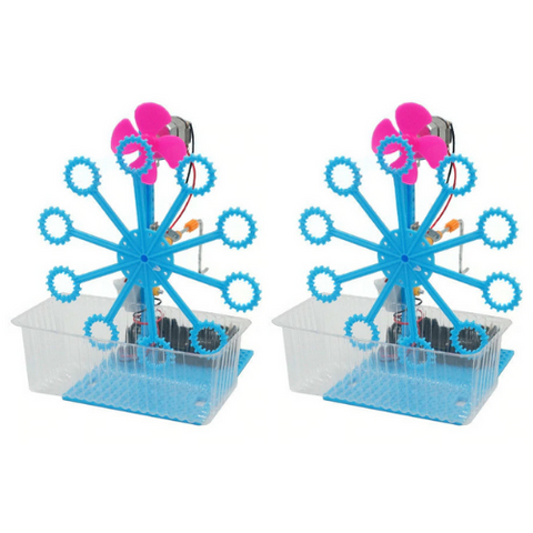 (2 Pack) Automatic Bubble Maker