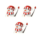 (3 Pack) Christmas Wiper