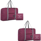 (2pk) Travel Foldable Duffel Bag