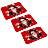 (3 Pack) Christmas Floor Mat