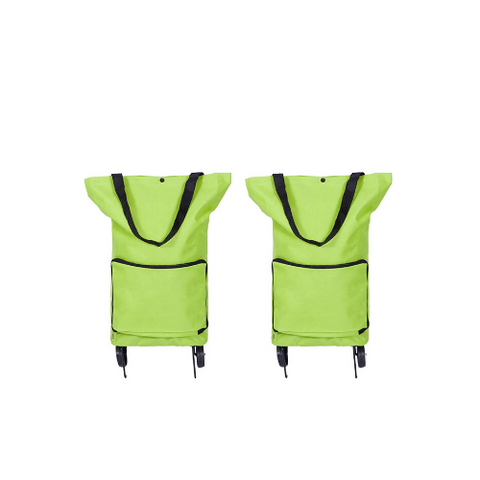 Foldable shopping bag (2 Pack)