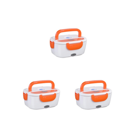 Heating Lunch Box (3 pack)