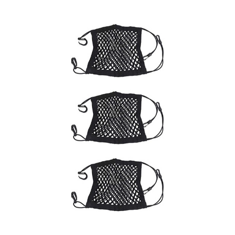(3 Pack) Mesh Net Trunk Bag