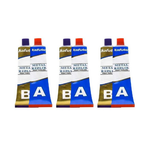 (3 Pack) Metal Repair Gel