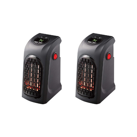 (2 Pack) Mini Space Heater