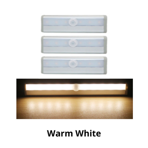 3 Pack- Motion Sensored Closet Light
