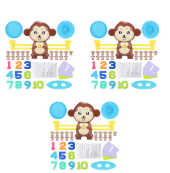 (3 Pack) Monkey Balance Toy