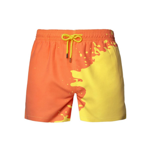 (1 Pack) Color Changing Swim Trunks