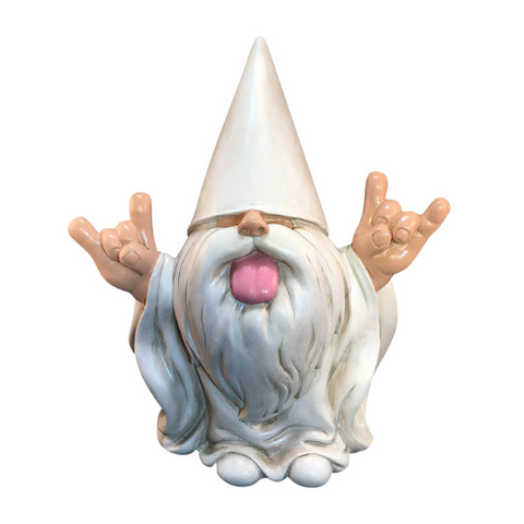 (1 Pack) Rock-On Garden Gnome