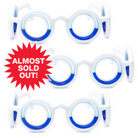 Motion Sickness Glasses (3 pack)