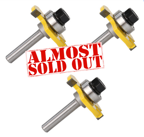 (3 Pack) Router Bit