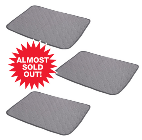 3 Reusable Pee Pads