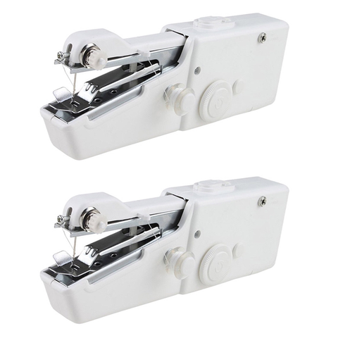 2 Pack - Handheld Cordless Sewing Machine
