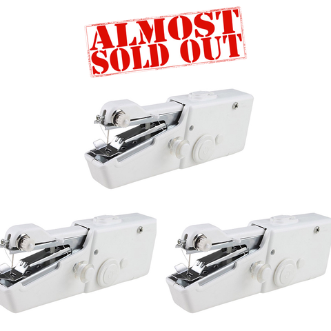 (3 Pack) Handheld Sewing Machine