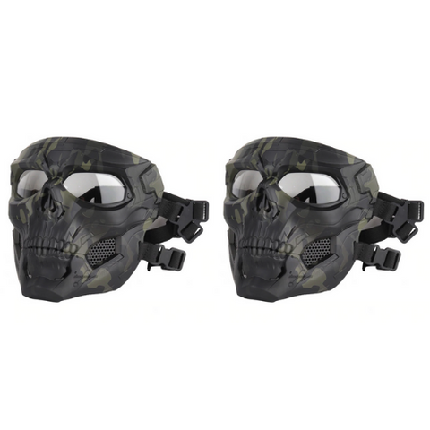 (2 Pack) Tactical Skull Masks