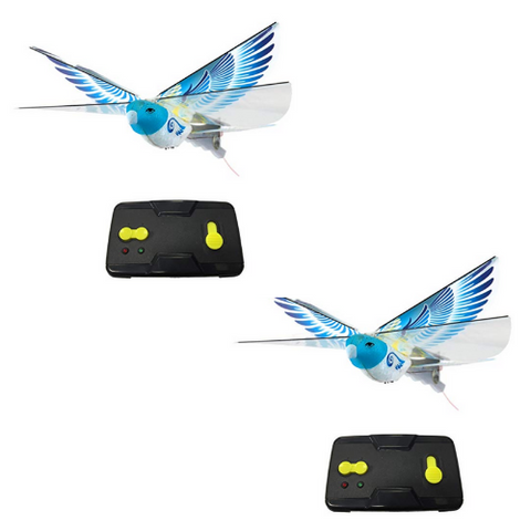 (2PK) RC Bird Drone Cat Toy