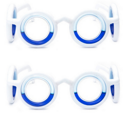 Motion Sickness Glasses (2 pack)