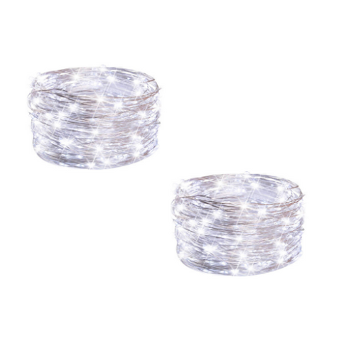 (2 Pack) Waterfall Lights