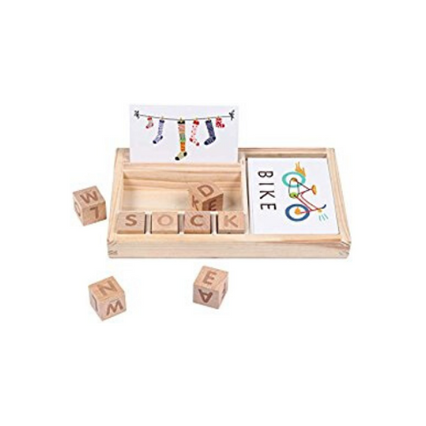 wooden spelling game (1 Pack)