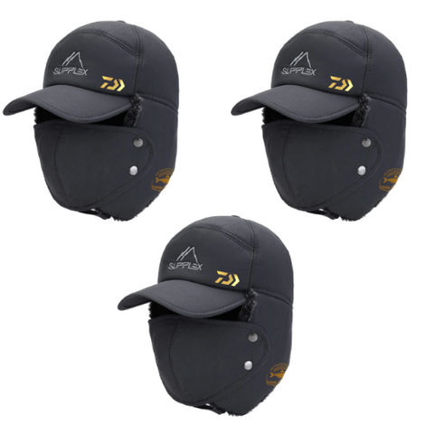 (3 Pack) Windproof Protection Hat