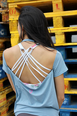 Backless Seoul Life Short Top