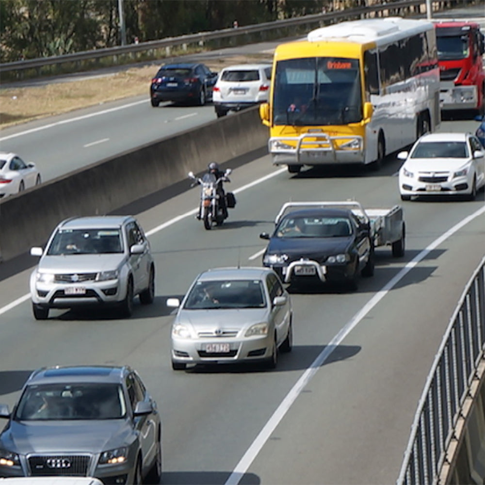 Ten tips for riding safely in heavy traffic