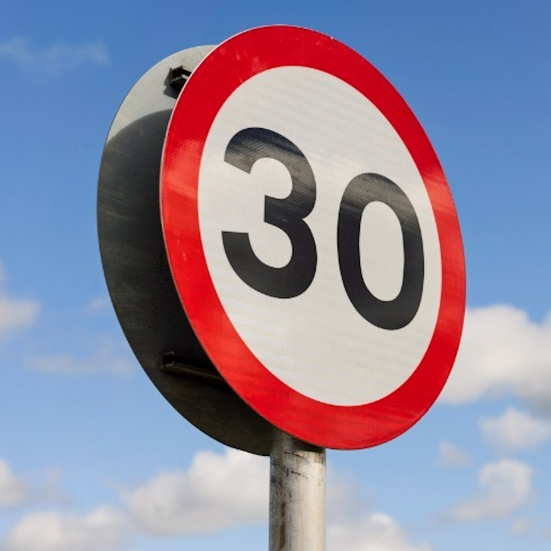 Top Tip - Speed limits
